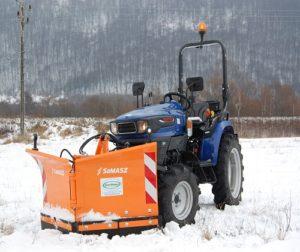 Snežné pluhy pre malotraktory