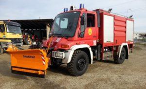 Snežné pluhy pre nákladné autá