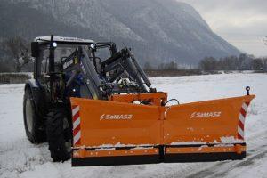 Snežné pluhy pre traktory