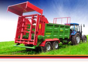 Rozmetadlá organických hnojív